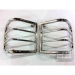 Stainless Steel Tail light Guards 2/4dr.TEAKA-10109