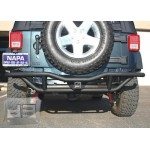 Textured Black Rear Bumper Guard TEAKA-10202