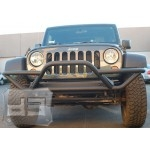 Textured Black Front Rock Crawler Grill Guard 2/4dr.  TEAKA-10203
