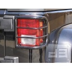 Black Tail Light Guard 2/4dr.  TEAKA-10209