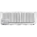 All Chrome Vertical Replacement Grill TEAKA-33331