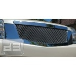 All Chrome Mesh Replacement Grill TEAKA-33398