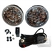 Replacement Fog Lights w/ wiring harness and switch TEAKA-50001