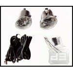 Replacement Fog Lights w/ wiring harness and switch TEAKA-50015