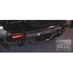 Stainless Steel Polished Rear Bumper Guard TEAKA-60013
