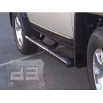 "Black 4"" Oval Side Bars TEAKA-60212"