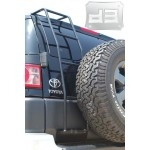 Black Rear Ladder TEAKA-60214
