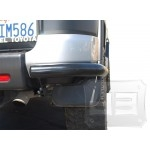Black Rear Bumper Corner Guards TEAKA-60219
