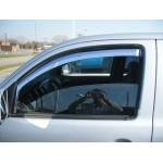 Double Cab Chrome ABS Window Visors ( 4 pcs.) TEAKA-72910