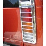 SUV ABS Chrome Tail Light Covers TEAKA-82100