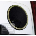 Stainless Steel Fuel Tank Bezel Surround TEAKA-83003