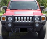 Hummer H3/H3T Black Grill Guard