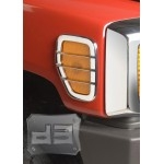 ABS Chrome Side Marker Light Covers TEAKA-83116