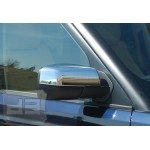 ABS Chrome HALF Mirror Covers TEAKA-98125