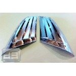 ABS Chrome Rear Pillar Covers TEAKA-99105