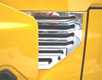 HUMMER H2 '03 Side Vents Chrome Billet