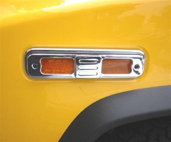 H2 Side Marker Light Bezels (8 pcs.)