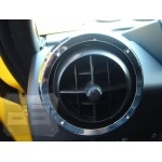 SUV/SUT Billet Aluminum Air Vent Rights (6 pcs.) TEAKA-H2H-1101-C