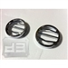 Billet Aluminum Chrome Fog Light Covers TEAKA-H3-1509