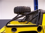 Slant Back Tire Rack by TeakaToys - TEAKA-SB-H1