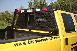 1999-2004 Ford F250/350 SuperDuty Headache Rack - by Top Gun