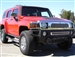 2006-2009 Hummer H3 - Upper Class Mesh Bumper - Polished Stainless Steel TR-55293