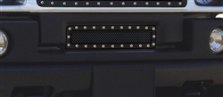 H2 X-Metal Series-Studded Bumper Grille-Black TR-6722901