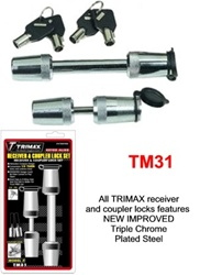 TRIMAX Receiver & Coupler Lock Set