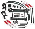 "1999-2006 Chevy/GMC K1500 Silverado 4x4 - 4"" Suspension Lift Kit (1 piece sub frame)"