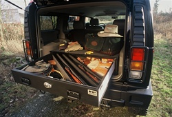 Hummer H2 Vault Storage System Full Size by Truck Vault