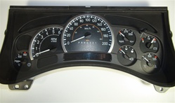 2006 - 2007 Hummer H2 Instrument Cluster - by US Speedo