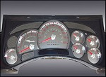 H2/SUT SS Gauge Kit by US Speedo