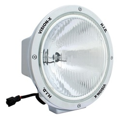 "8550 Series 8.7"" Chrome HID 50 Watt Lamp by Vision X"