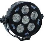 "Solstice S6100 6"" Round LED Light - by Vision X"