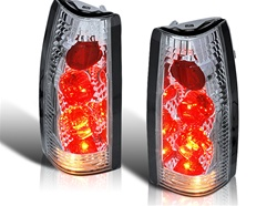 88-98 Chevy CK Altezza Tail Light - Chrome/Clear