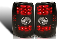 00-06 Chevy Suburban/Tahoe/Yukon LED Tail Light - Black/Smoke