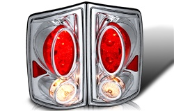 02-06 Dodge Ram Pick-up Altezza Tail Light - Chrome/Clear