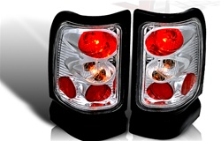 94-01 Dodge Ram Pick-up Altezza Tail Light - Chrome/Clear
