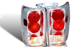 97-02 Ford Expedition Altezza Tail Light - Chrome/Clear