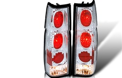 86-97 Nissan Hardbody Altezza Tail light - Chrome/Clear