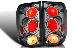 01-04 Toyota Tacoma Altezza Tail Light - Chrome/Smoke