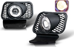 03-06 Chevy Silverado / 04-06 Avalanche  Halo Projector Fog Light (Smoke)