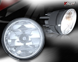 04-05 Nissan Titan Halo Projector Fog Light (Clear) by Winjet