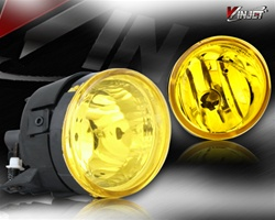 04-05 Nissan Titan Halo Projector Fog Light (Yellow) by Winjet