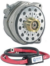 Hummer H3/H3T 5.3L High Output Alternator Kit 250 AMP by Wrangler NW