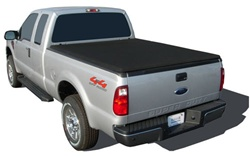 "Ford HardHat Premier Hard Folding Tonneau Cover with ""Ragtop"" Look by Advantage Truck Accessories"