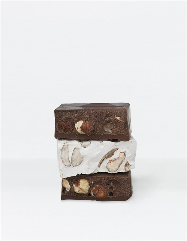 Dark & White Chocolate Nougat