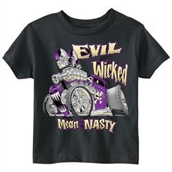 Evil, Wicked, Mean and Nasty Toddler Tee