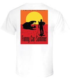 Jim Dunn Funny Car Summer T-Shirt by LON