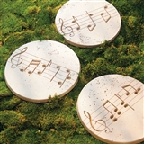 Music Motif Garden Stepping Stones